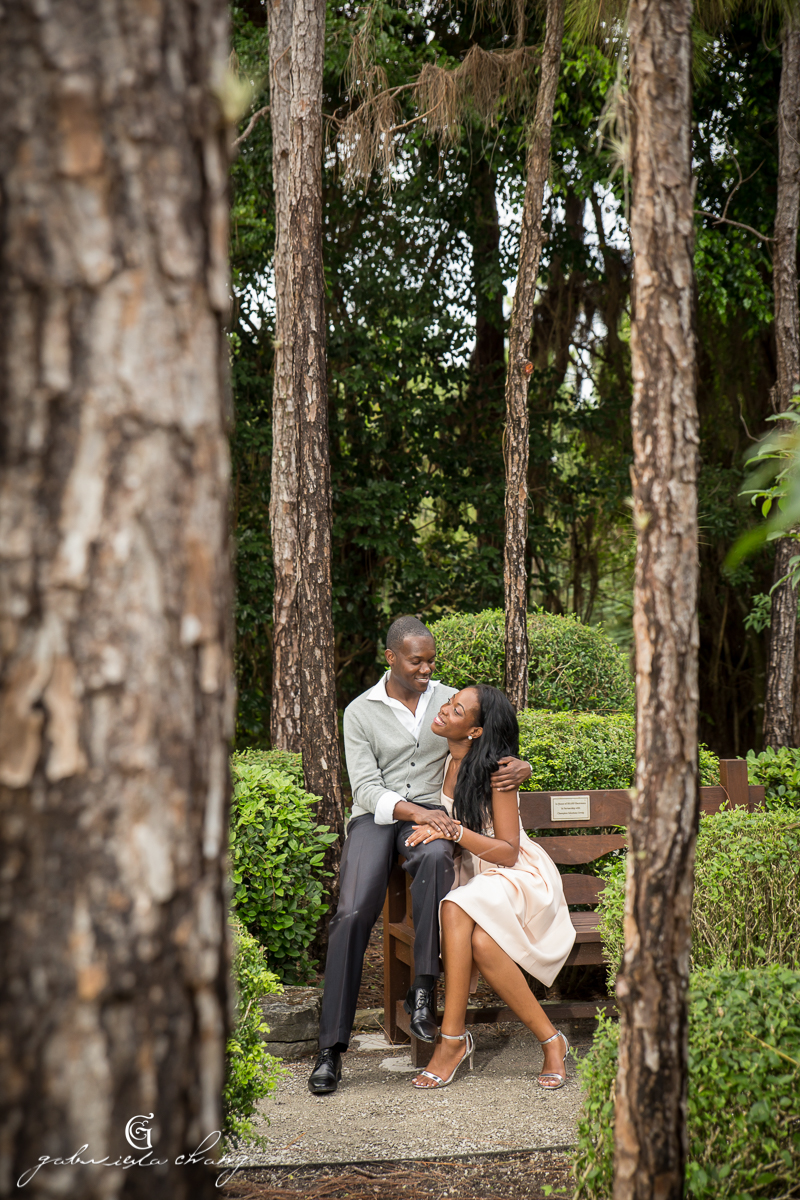 Morikami Japanese Gardens Engagement by Gaby Chang10.JPG