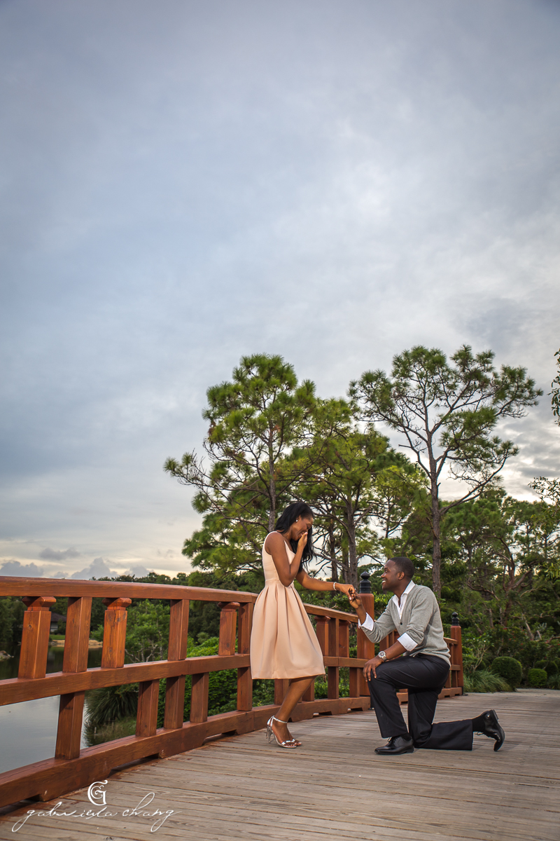 Morikami Japanese Gardens Engagement by Gaby Chang12.JPG
