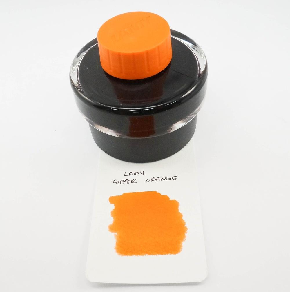 Lamy Copper Orange Ink Bottle