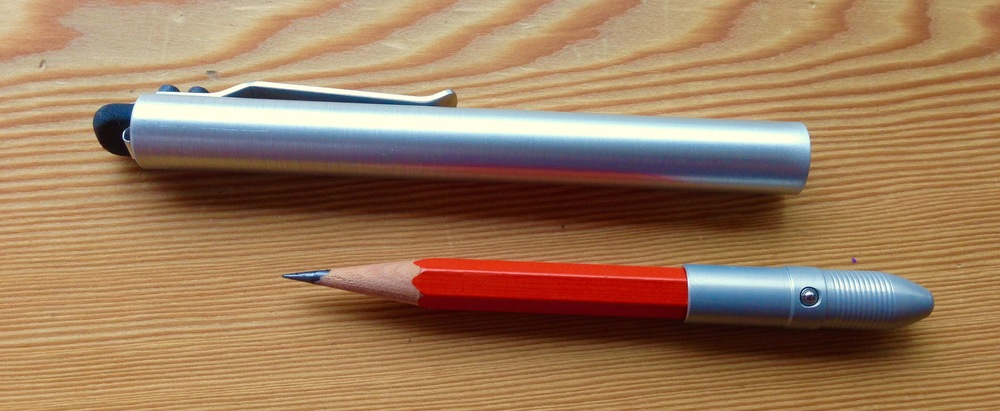 Bullet Pencil ST with its newly loaded Palomino Golden Bear HB