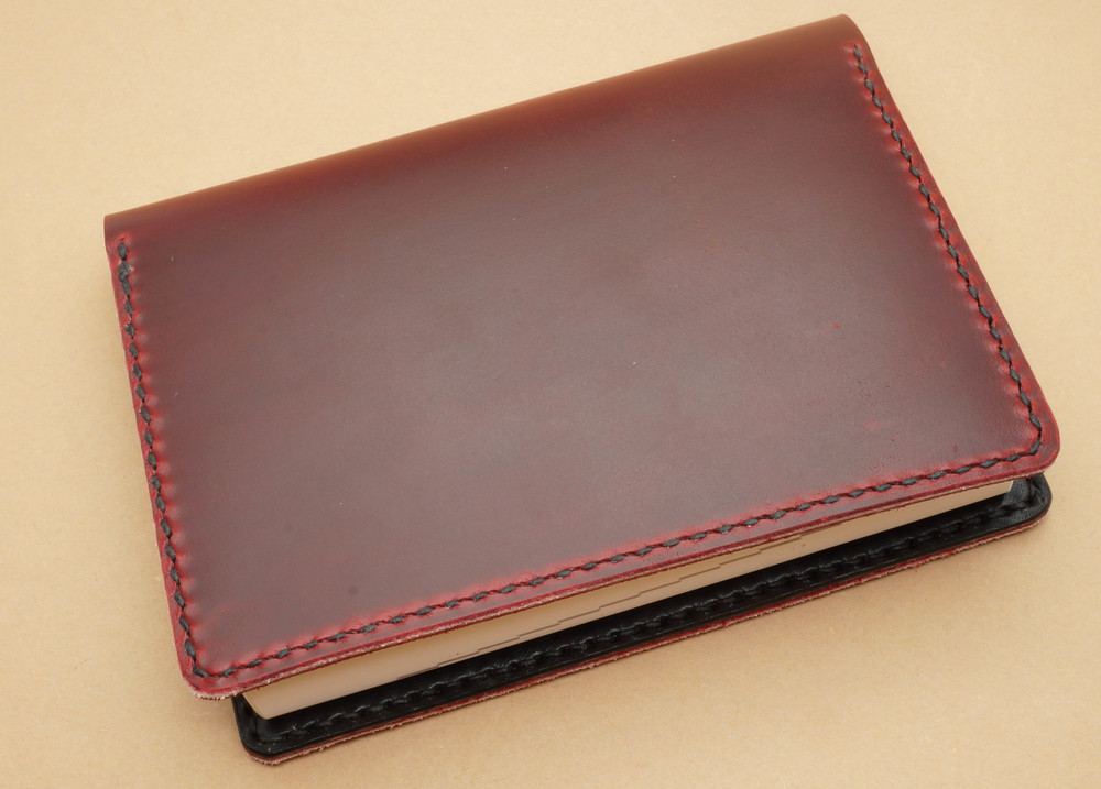 The planner shrouded in the One Star Leather Cover