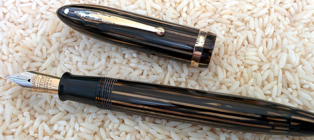 Sheaffer's Balance Premier Oversize after restoration by Stacy Hills