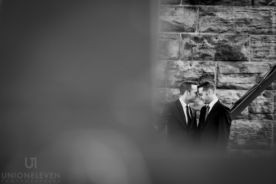 Modern same-sex wedding  |  www.justloveweddings.ca