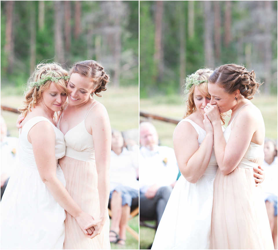 Simple, Natural Same-Sex Wedding  |  www.justloveweddings.ca