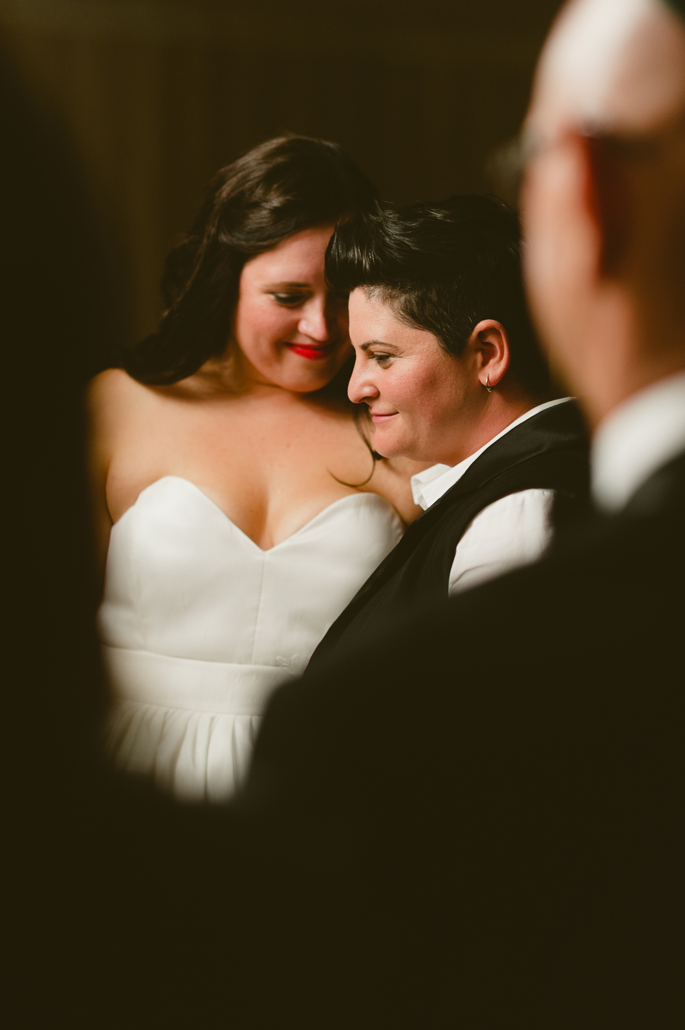 Marnie + Tova's same-sex Jewish wedding  |  www.justloveweddings.ca