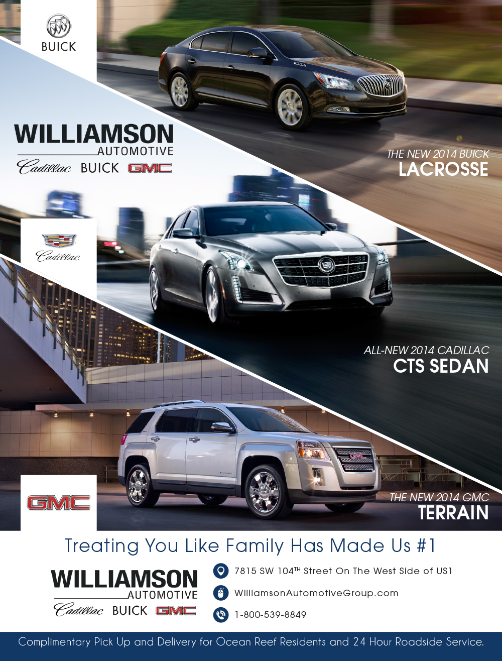 Williamson-Automotive-2014-Buick-Lacrosse-Cadillac-CTS-Sedan-GMC-Terrain-Print-Ad