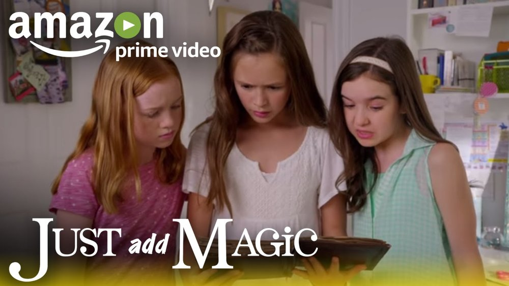 Just Add Magic - Both my girls love this show. Based on a best-selling novel, the series tells the story of three young friends who find a mysterious cook book and create a secret cooking club. It's an enjoyable mystery that is sweet and easy to watch. It skews slightly young so tweens on the earlier side are likely the right fit.