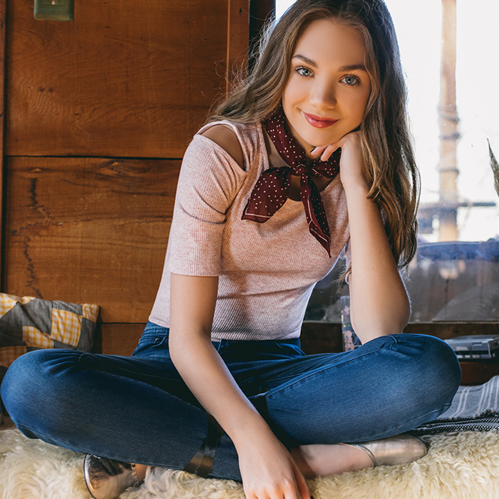A tween/teen celebrity, Maddie Ziegler, is the force behind the brand. Personally, I really like the look of their cozy fabrics that are