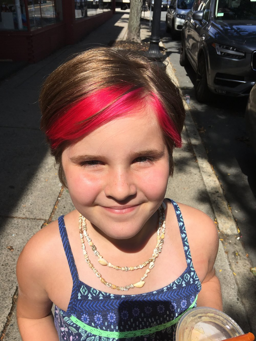 Recently I did what some parents would consider unthinkable. I dyed my 8 year-old daughter's hair pink.  -