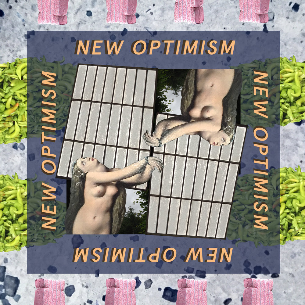 NEW OPTIMISM SILK 100% SCARF