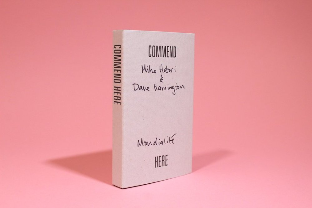 "Released    a live recording    session (special guest, Dave Harrington) from Commend's limited edition ""Commend Here"" cassette series."