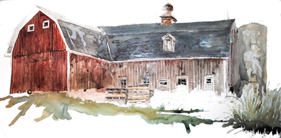 Red Barn on F