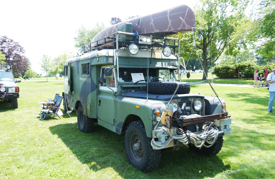 1968 Land Rover Ambulance Makes A Great Overland Camper ...