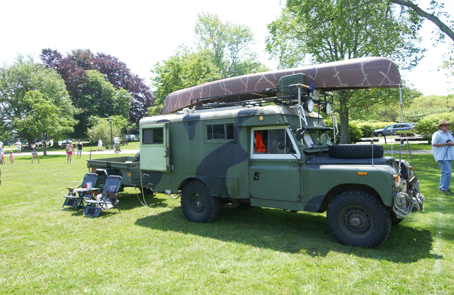 1968 Land Rover Ambulance Makes A Great Overland Camper
