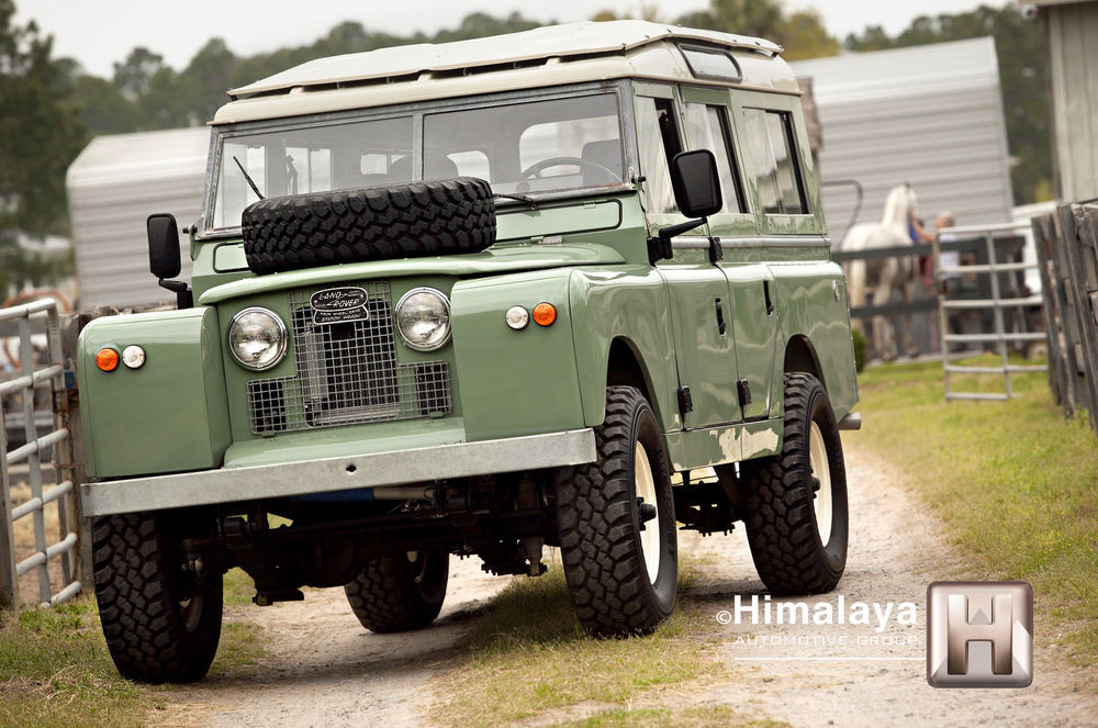 Stunning Restored Land Rover Up For Sale Drive The Globe