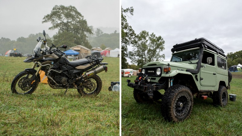 Indestructible vehicles of all kinds—jeeps, trucks, vans, and bikes—made an appearance at this year's Overland Expo.      Photo:   Bryan Rogala