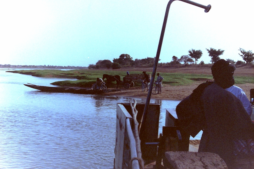 Across the river in Mali