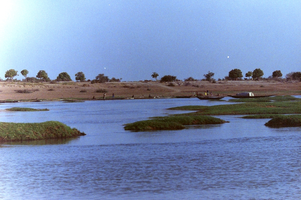 Flood plains of Mali