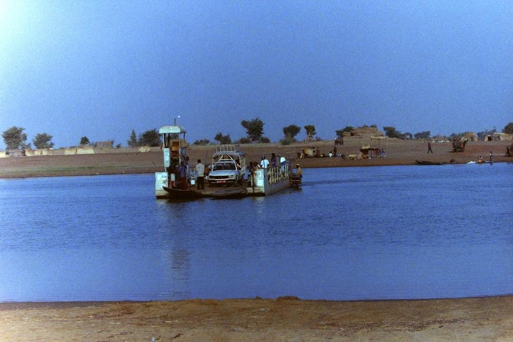 Ferry in Mali