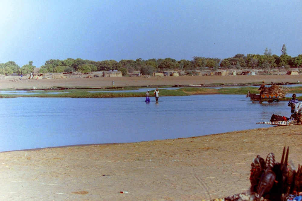 Bathing in Djenne Mali