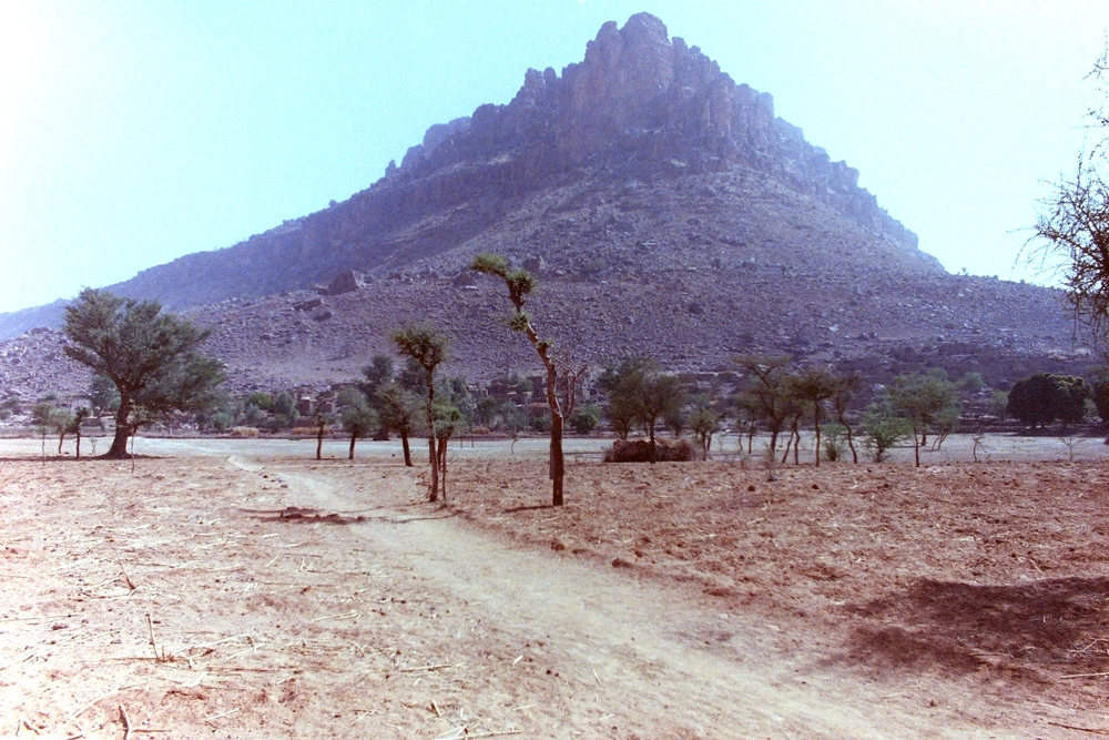 Deserted road to Timbuktu