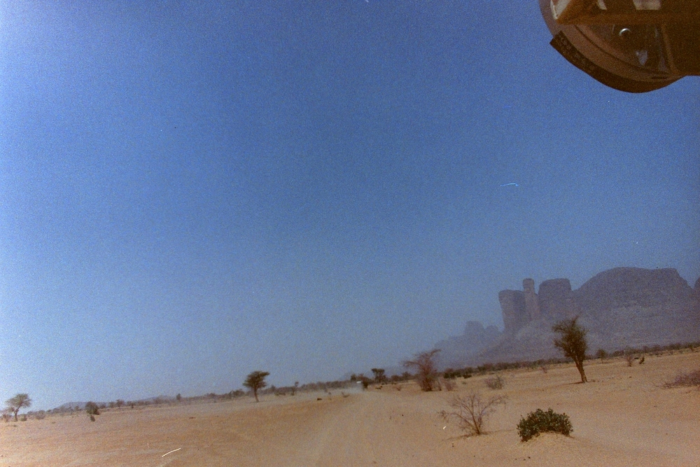 Dust storms in Mali