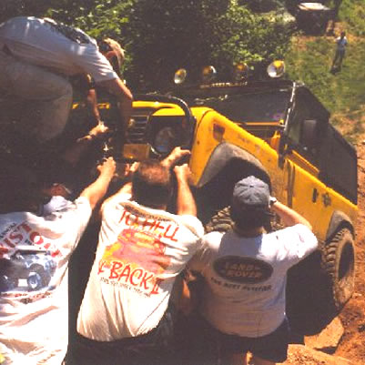 1999: WCRC Rover Weekend  - June 1999 at Middletown Connecticut