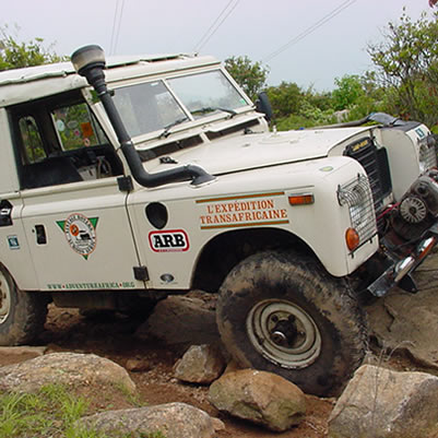 2002: WCRC Harkness Weekend  - Off-road, including photos of our newly restored Land Rover 101
