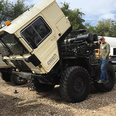 2014:The Unimog Goes X Country - Journey to Couch Offroad Engineering