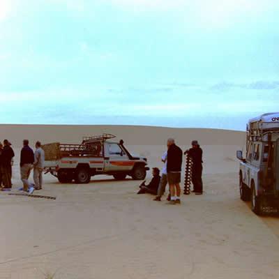 Crossing the Sahara - HOT, SANDY & BARREN