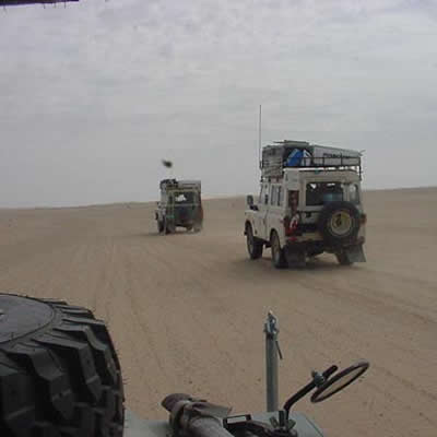 February 19, 2001 Sahara Desert - The road to Nouakchott Mauritania