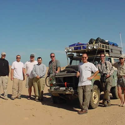 February 14, 2001 No Mans Land - Journey through Western Sahara