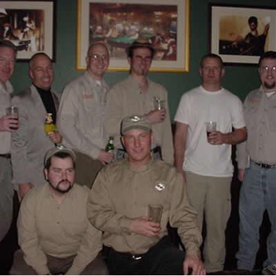 February 3, 2001- Farmington, CT - USA-Farewell gathering at the Marriott