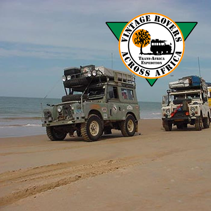 2001:Trans-Africa Expedition - Vintage Rovers Across Africa