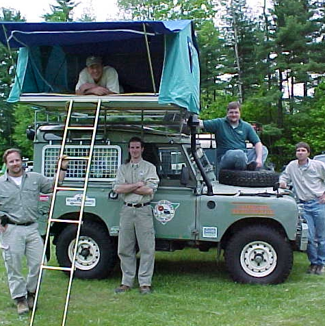 2000: Hell & Back - Some of the VRAA crew & trucks before the Africa trip
