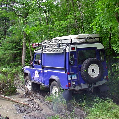 2005: Ottawa Valley Birthday Party - Annual OVLR Birthday Party Land Rover event in Silver Lake Ontario