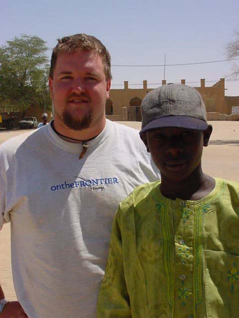 Paul Shumway & A Timbuktu Resident