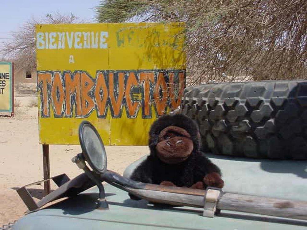 Timbuktu Mali Sign