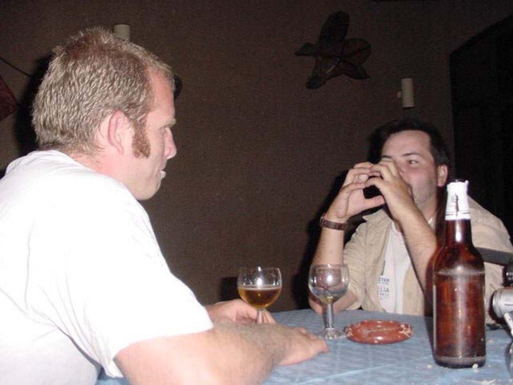 Shane Ballensky & Ed Messenger in Timbuktu