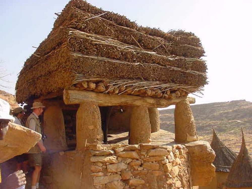 Dogon Village Elders meeting hall (A Toguna)