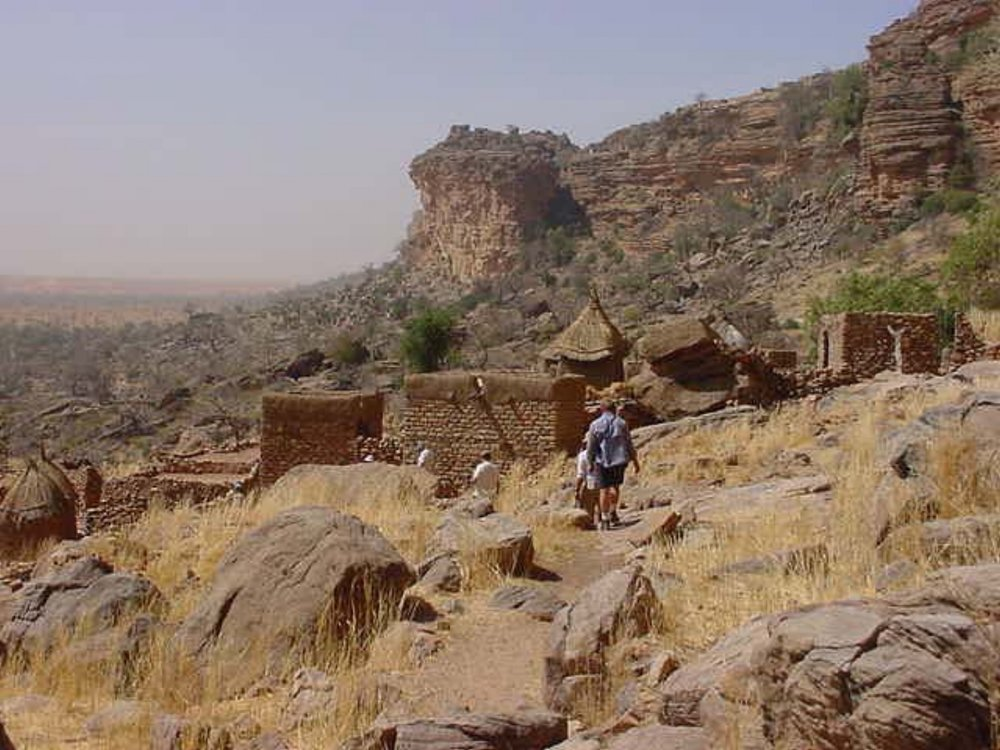 Beautiful Dogon scenery