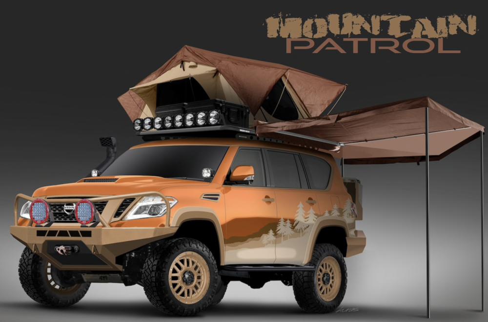 Nissan Armada Mountain Patrol Front