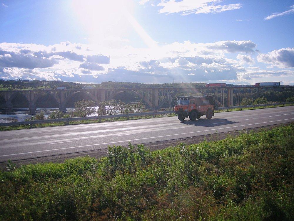 TRAVEL LOG - EXPLORATION GASPE PENINSULA