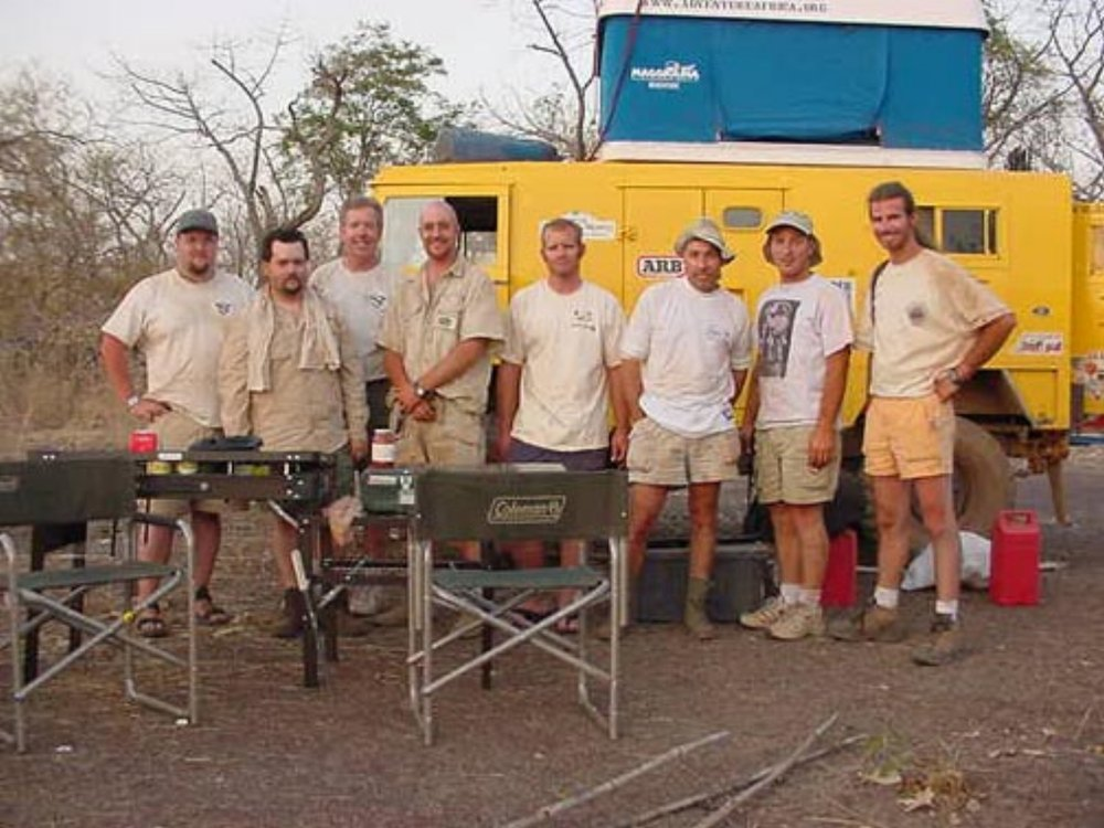 EXPEDITION TEAM - TRANS-AFRICA EXPEDITION