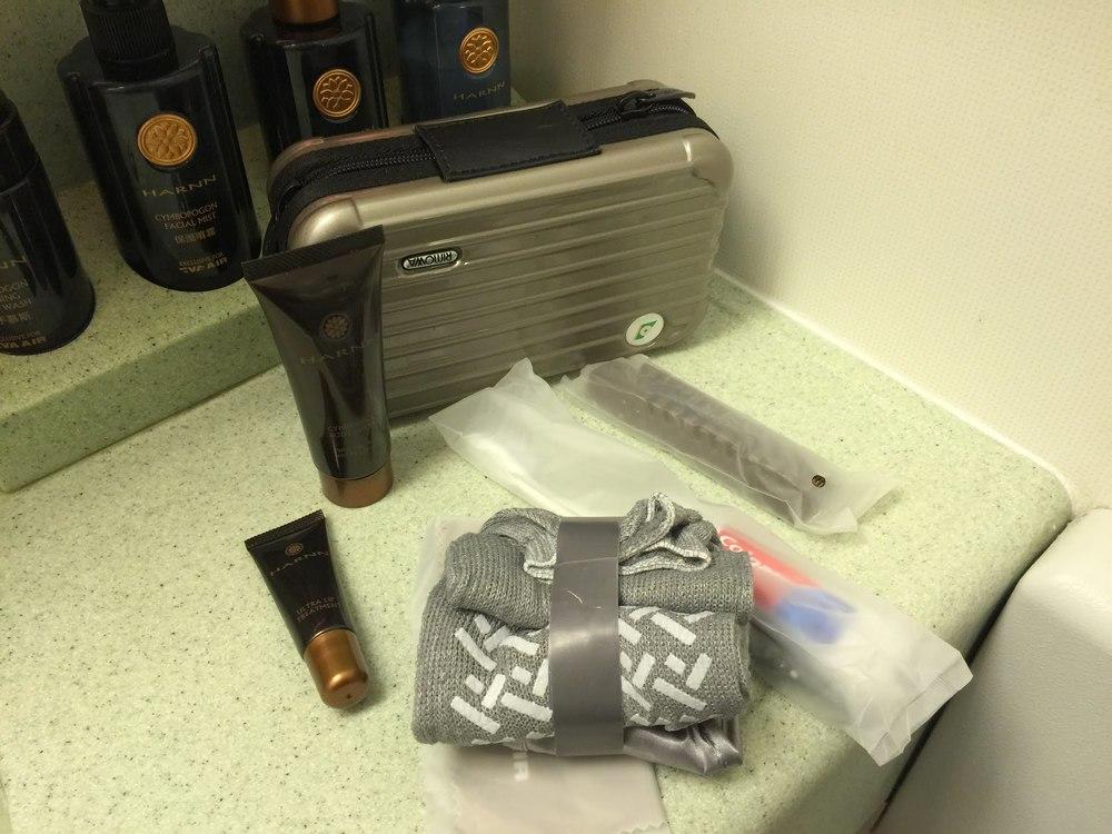 EVA Airways Business Class Amenity Kit