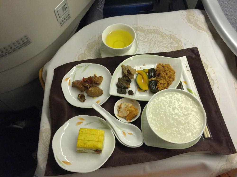 Breakfast Service: Chinese Porridge & Traditional Delicatessens