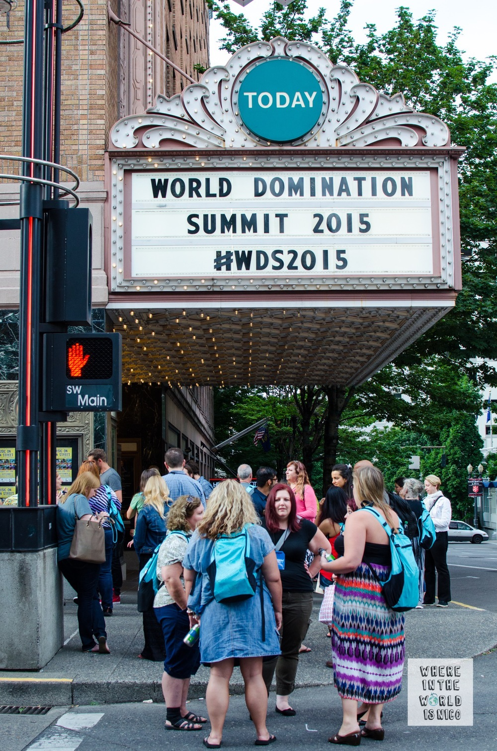 Arlene Schnitzer Concert Hall housed the main WDS conference