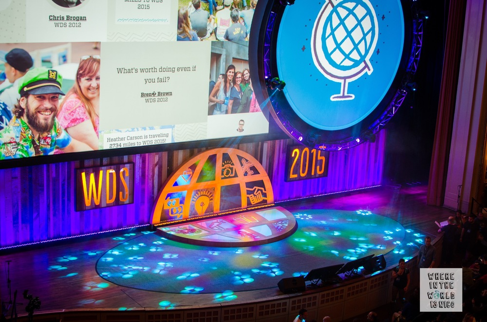 The mainstage at WDS