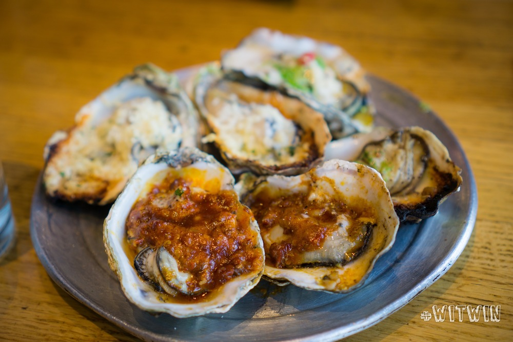 Gorgonzola & Bacon + Chipotle Bourbon Butter Chargrilled Oyster ($2/each)