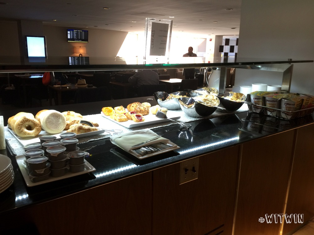 Galleries Lounge food spread